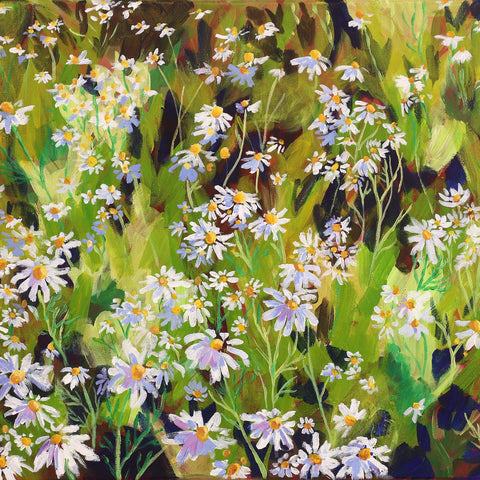Daisy Patch 16x20""