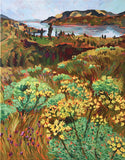 "Giclée Print of ""Desert Parsley at Catherine Creek"""