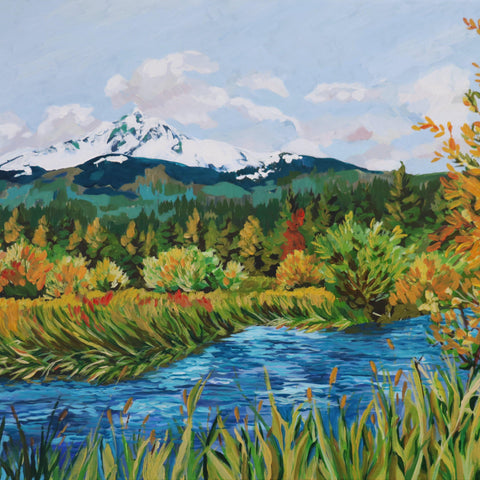 "Mt. Washington at Black Butte 24""x36"""