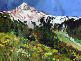 "McNeil Point at Mount Hood 16""x20"""