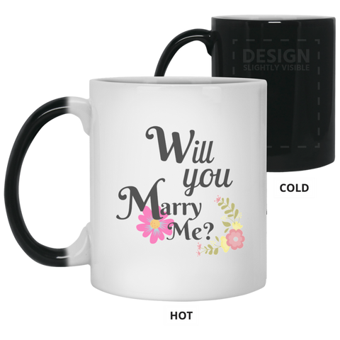 Will You Marry Me 21150 11 oz. Color Changing Mug