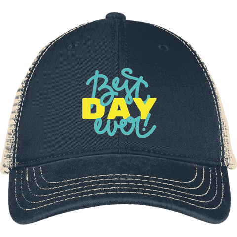 Best Day Ever DT630 District Mesh Back Cap