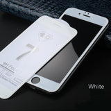 9H Hardness 4D Curved Edge Full Cover Tempered Glass for iphone