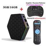 T95Z PLUS Android Smart TV BOX with Built in Dual-band WiFi
