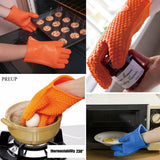 Multifunction Silicone Heat Resistant Glove