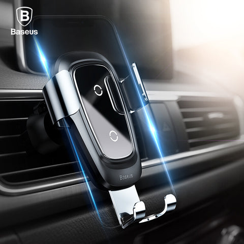 Qi Wireless Car Charging Air Vent Mount Phone Holder