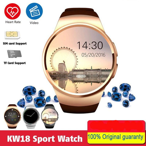 KW18 Smart Watch with SIM & TF Slot