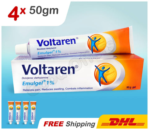 Voltaren Gel Anti Inflammatory Joint.Muscle Sprain Strain Back Pain Relief