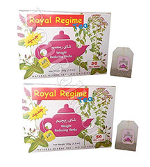 Royal Regime Tea Weight Reducing Slimming Herbs Loss Diet 50-200 Tea Bags (Royal Regime 50 Bag)