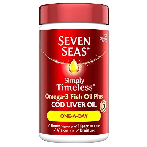 Seven Seas One A Day Pure Cod Liver Oil 140 capsules