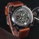 Men Military Watches Dive 50M  LED Watches Top Brand Luxury Quartz Watch