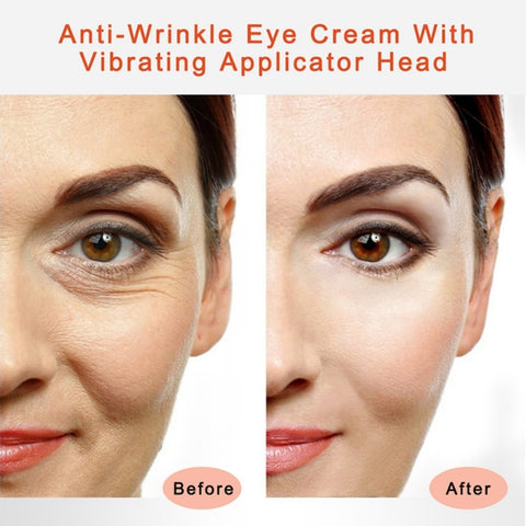 Anti-wrinkle electric massaging cream