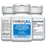 Omega XL 60 ct by Great HealthWorks: Small, Potent, Joint Pain Relief - Omega-3
