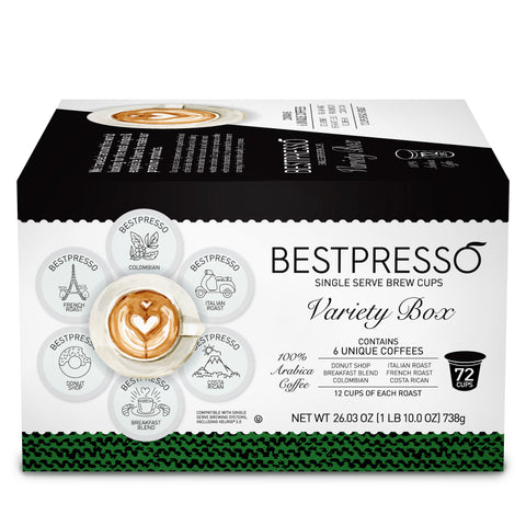 Coffee Variety Pack - 72 Pods