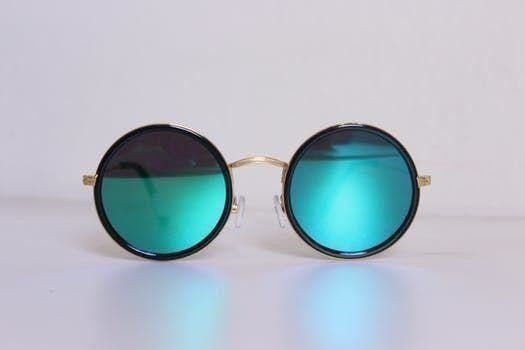 a close up of sunglasses