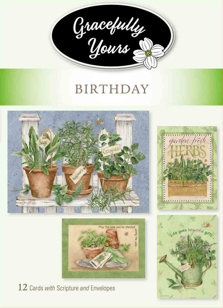 Birthday Garden of Grace (12ct) - GY-23