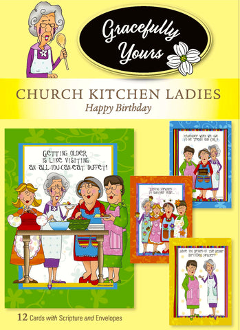 Church Kitchen Ladies 32 count Birthday