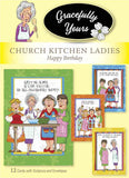 Church Kitchen Ladies Birthday (12 ct) - GY-117
