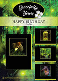 Birthday Fireflies Birthday Cards (12 ct) - GY-147