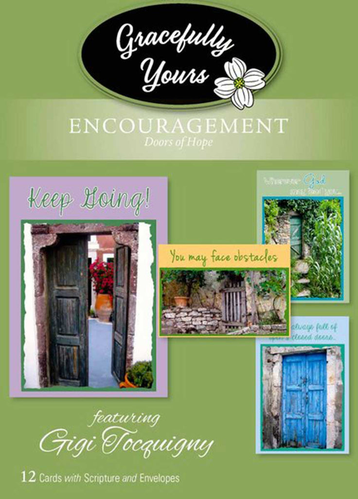 Encouragement Doors of Hope  (12 ct) - GY-123