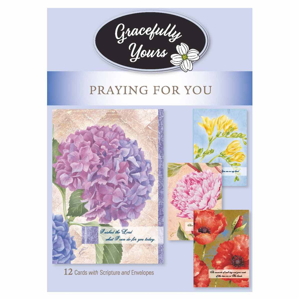Praying for You Always Here Praying for You (12 ct) - GY-011