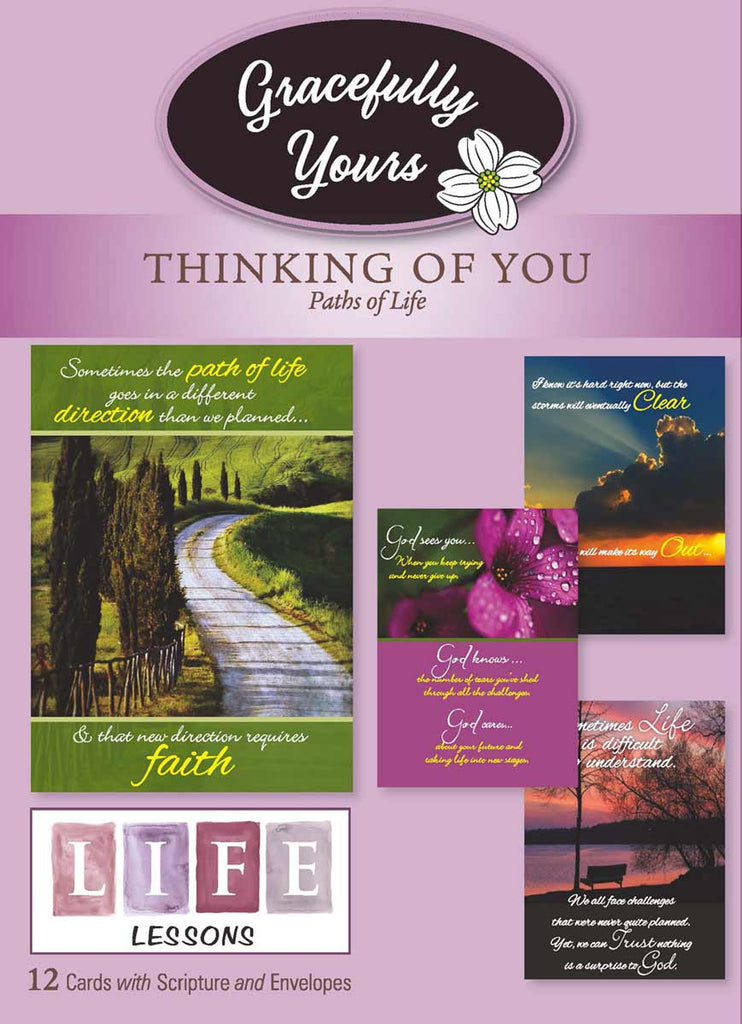Thinking of You Paths of Life/Life Lessons (12 ct) - GY-107