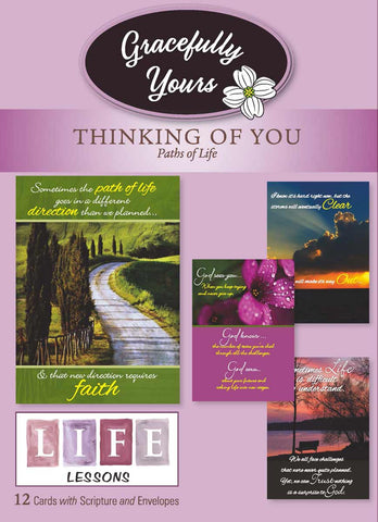 Paths of Life/Life Lessons Thinking (12 ct) - GY-107