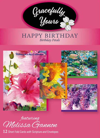 Birthday Petals (12 ct) - GY-157
