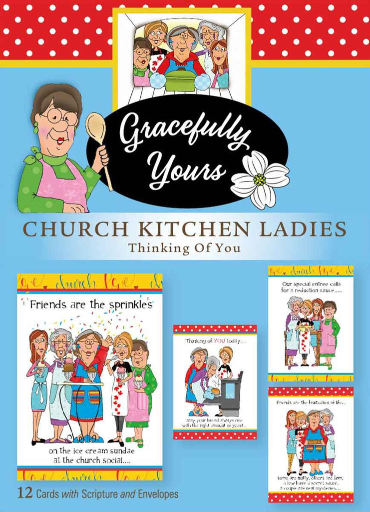 Church Kitchen Ladies - Thinking of You #155 So funny and so ....today