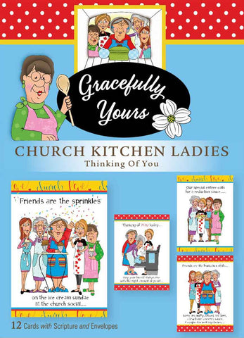 Church Kitchen Ladies - Thinking of You (12 ct) - GY-155