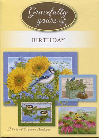 Birthday God's Serenity (12 ct) - GY-022