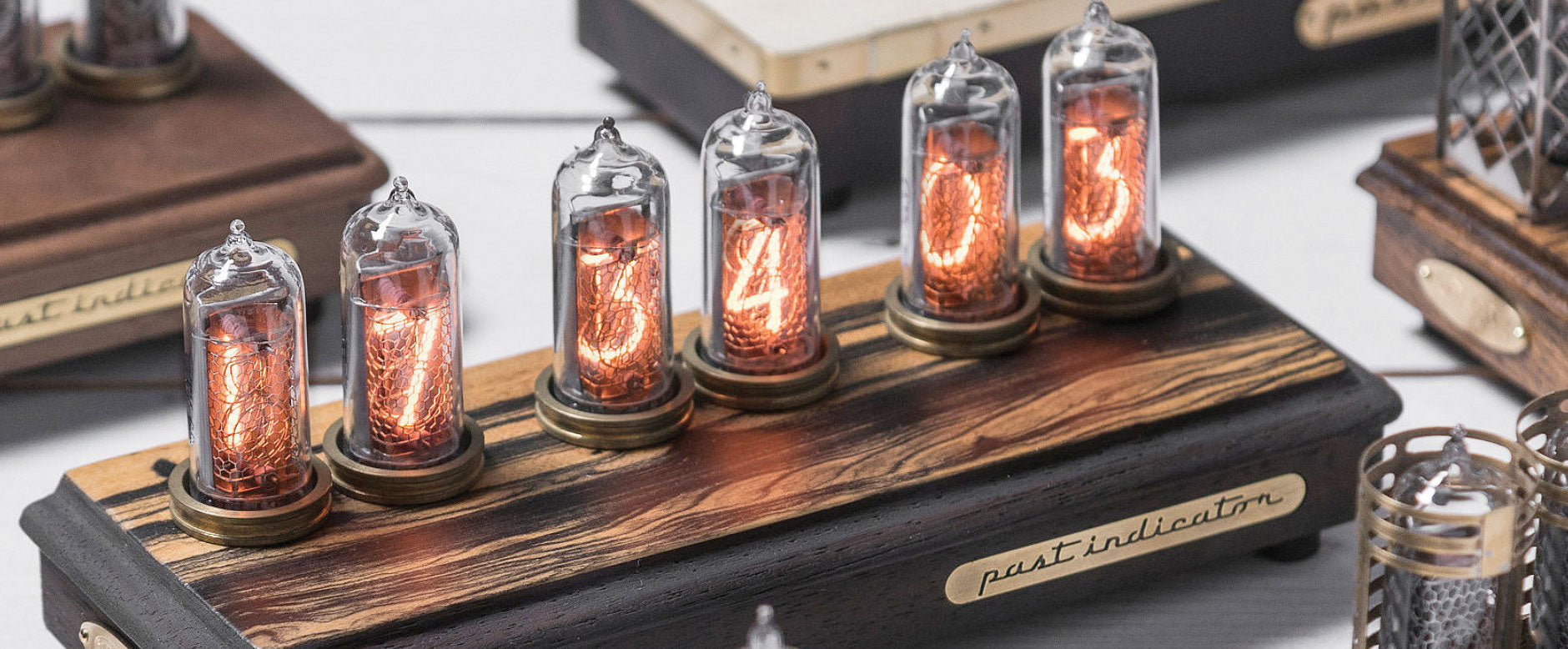Past Indicator Nixie clocks