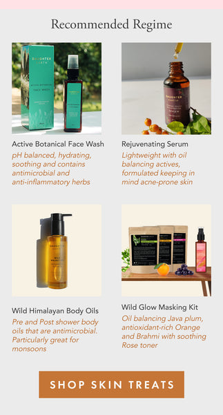 Daughter Earth Ayurvedic skincare for Hormonal Acne Regime