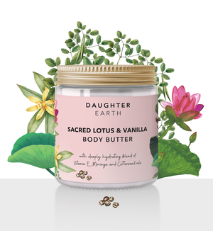Sacred Lotus & Vanilla Body Butter