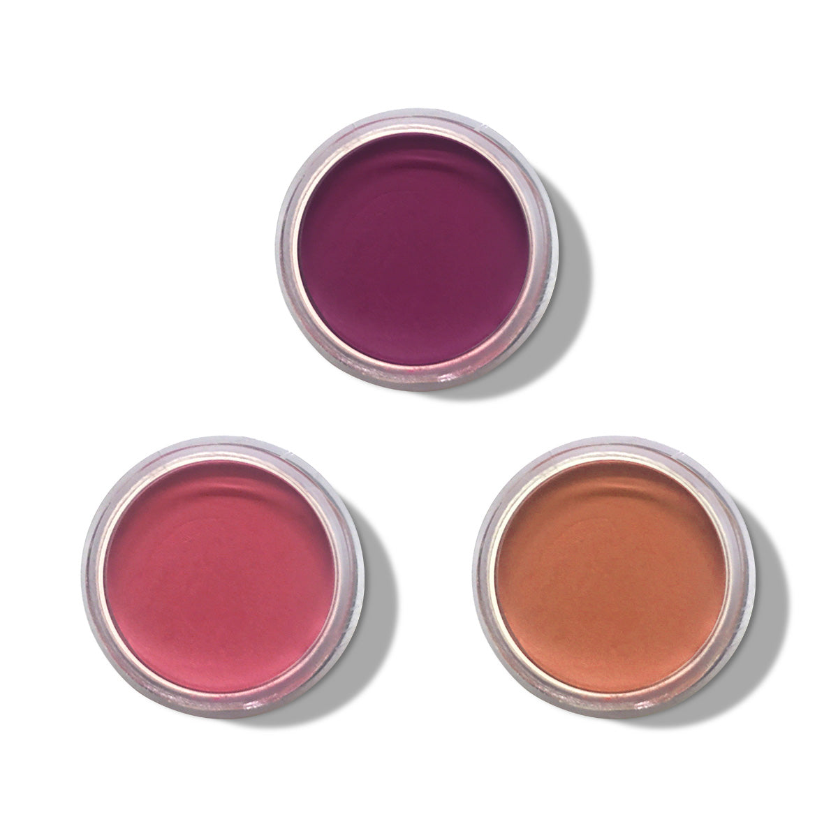 Clean Pigments - Set of Three Lip & Cheek Tints