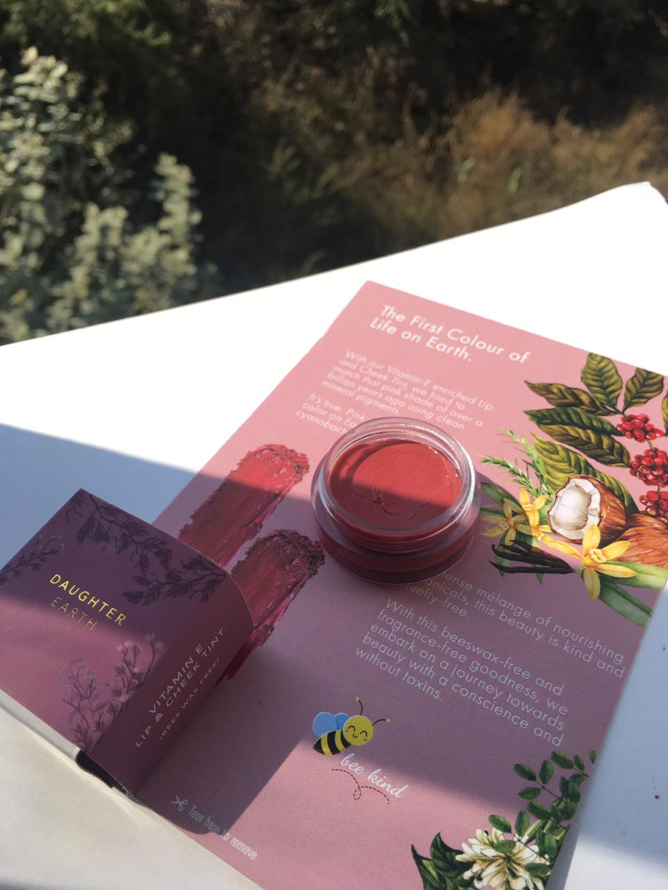 Daughter Earth Lip & Cheek Tint