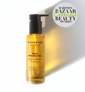 Walnut Oil Cold Pressed Wild-Harvested Daughter Earth