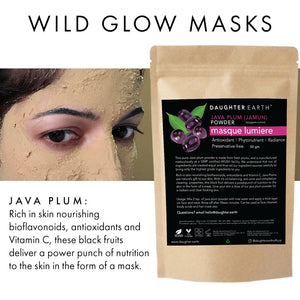 wild glow mask daughter earth mask