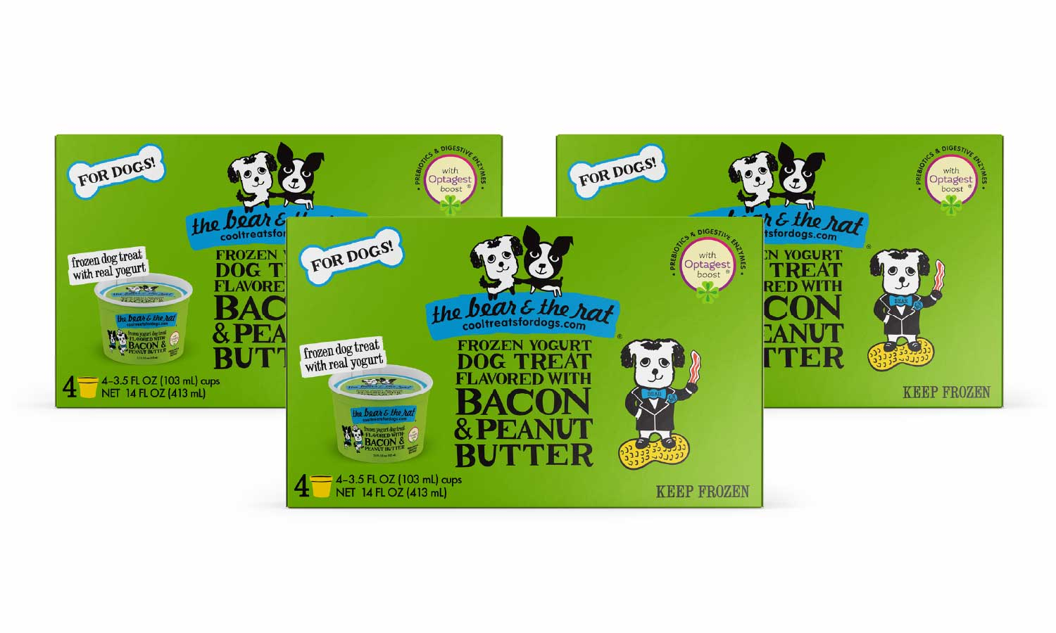 12 Cup Bacon Peanut Butter Pack