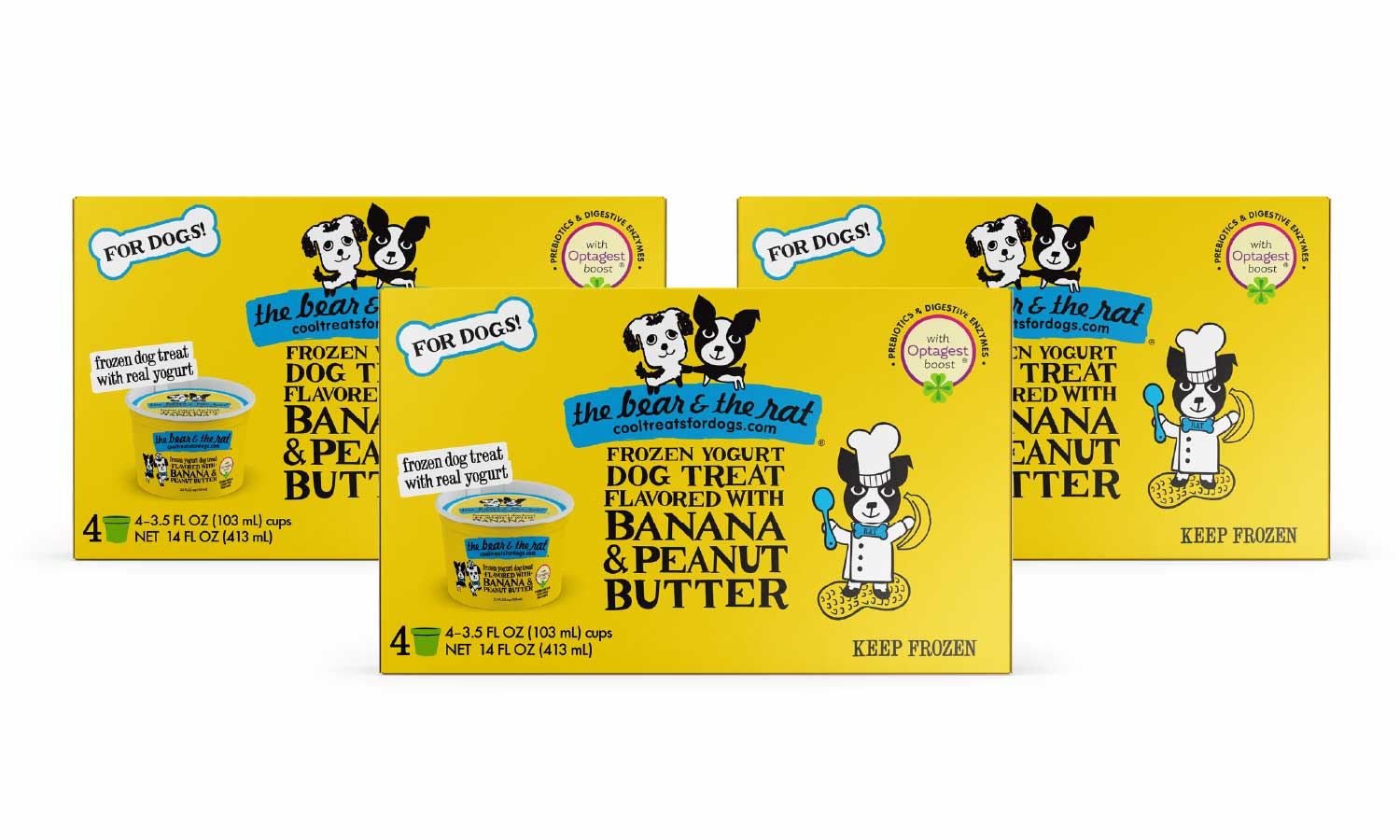 12 Cup Banana Peanut Butter Pack