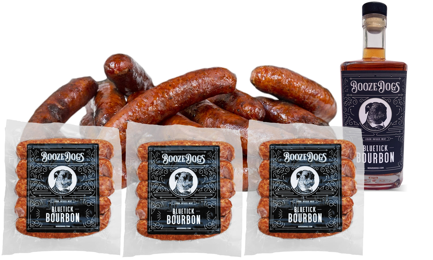 Bourbon Bratwursts 3lb Pack