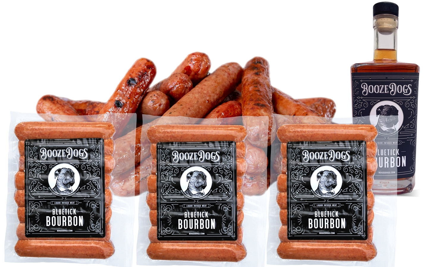 Bourbon Hotdogs 3lb Pack