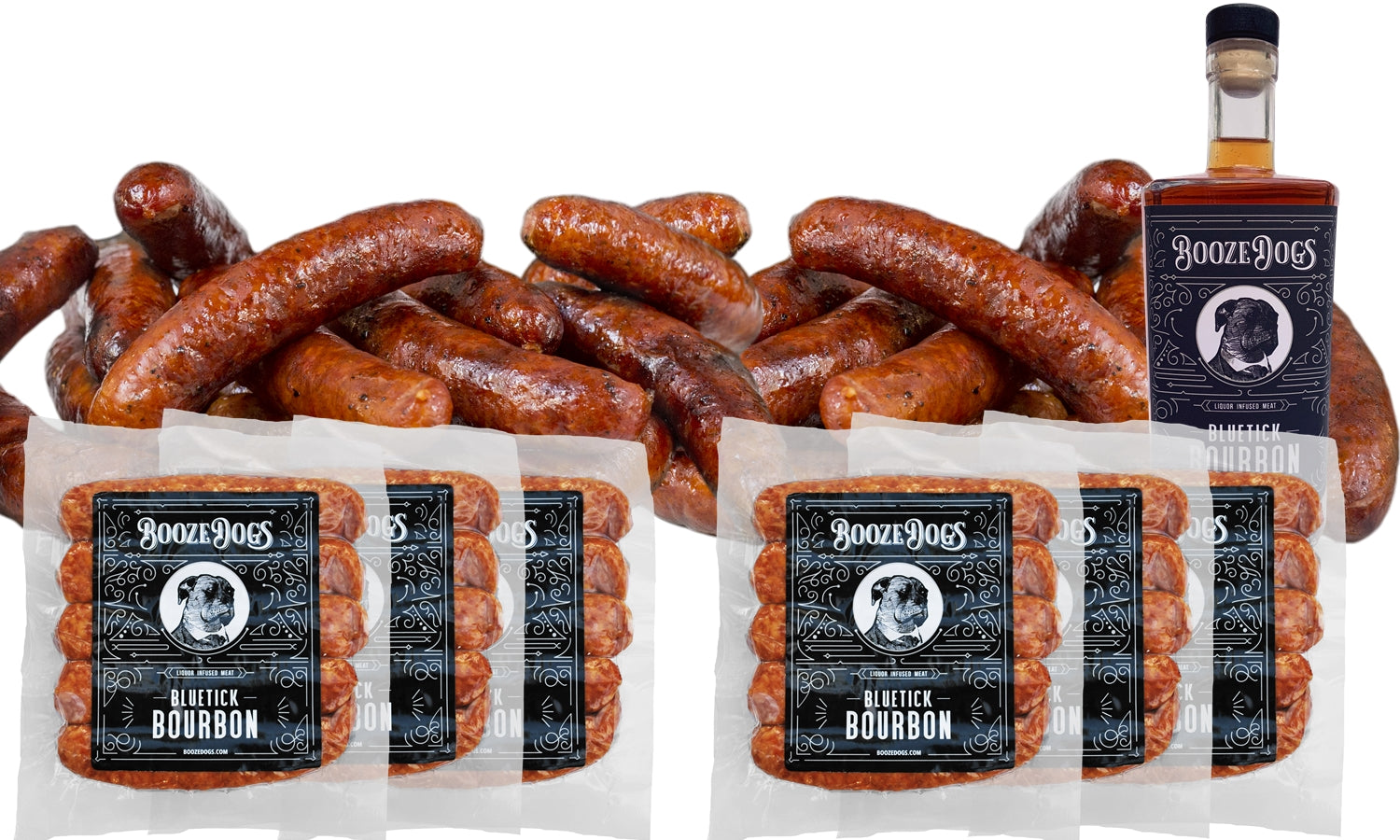 Bourbon Bratwursts 6lb Pack