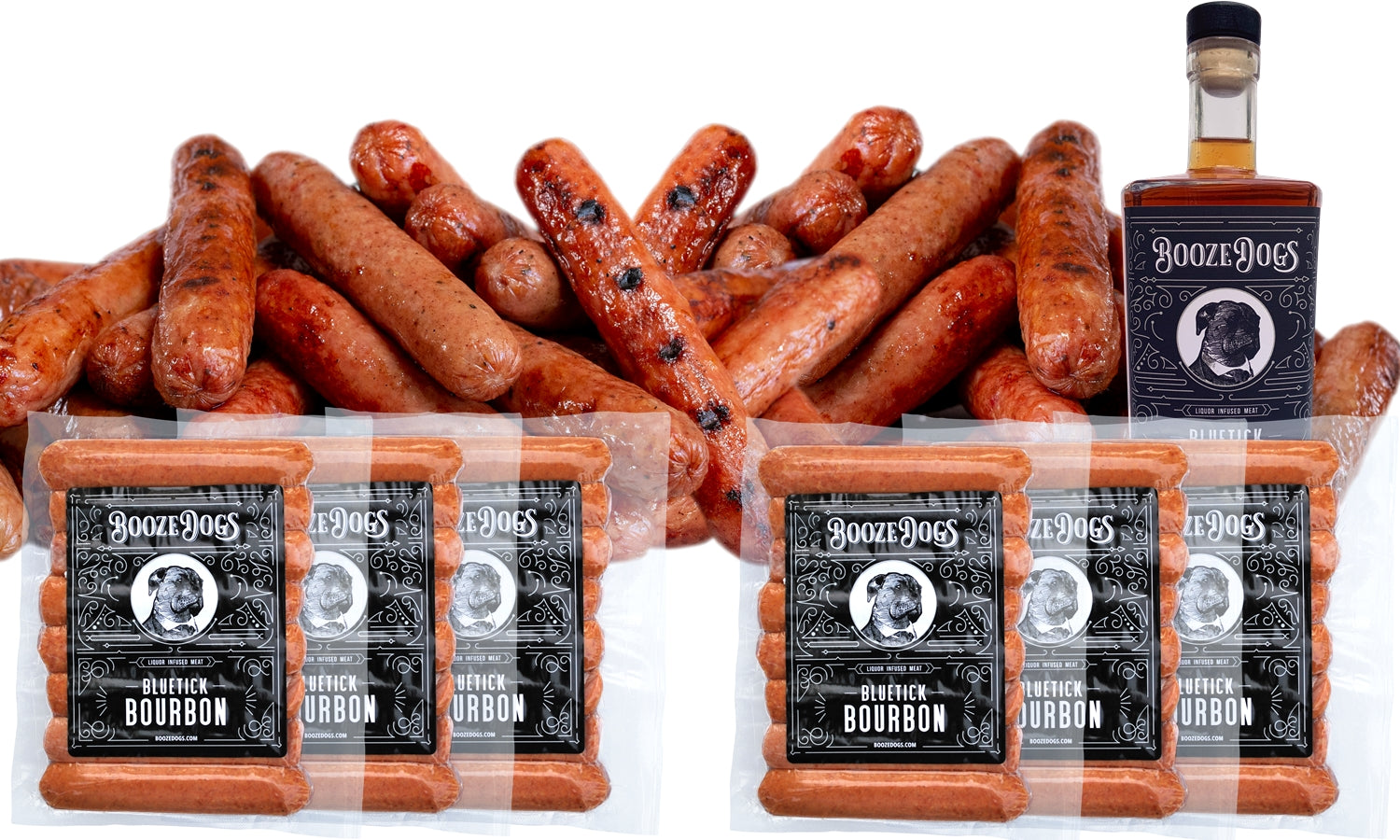 Bourbon Hotdogs 6lb Pack