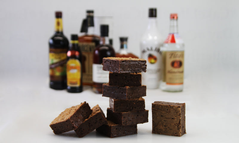 Small Batch Brownie - Boozy 16 Brownie Box - TheBite.Life