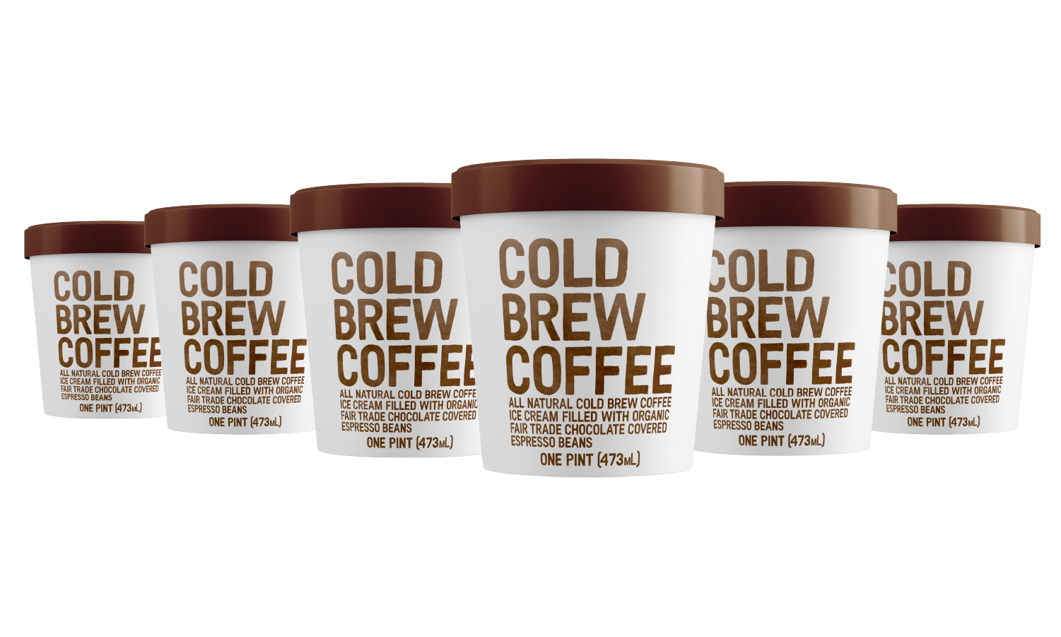 Cold Brew Coffee 6 Pint Pack
