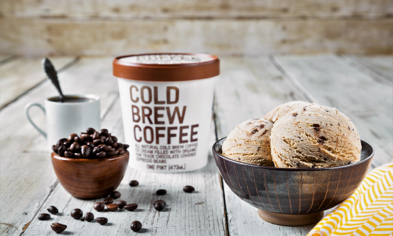 Cold Brew Coffee Ice Cream Scoop