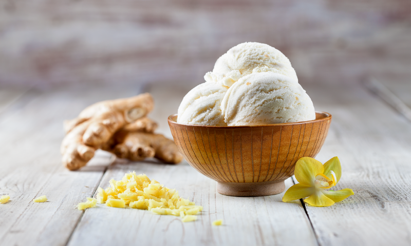Ginger Ice Cream Scoop