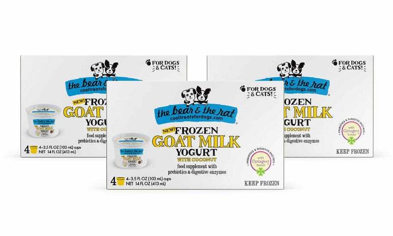 The Bear & The Rat - Goat Milk with Coconut 12 Cup Pack - TheBite.Life