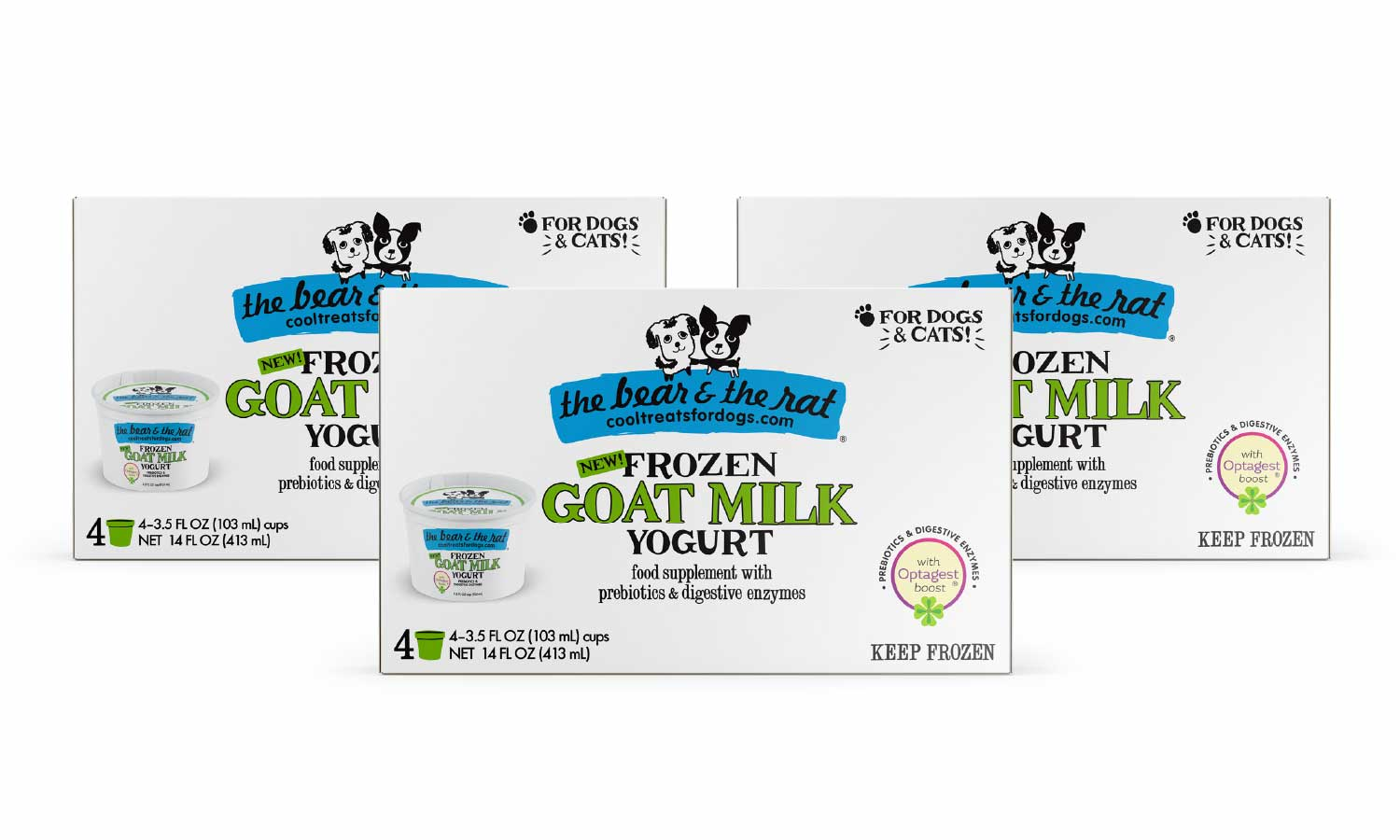 Goat Milk 12 Cup Pack